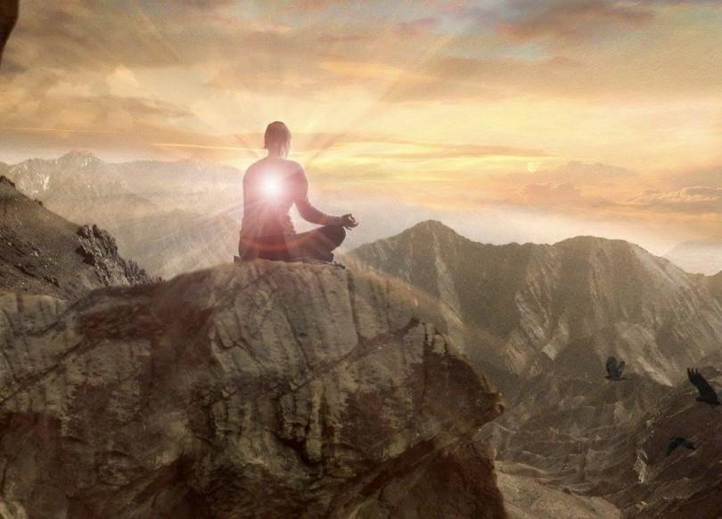 MeditationMan-MountainLight